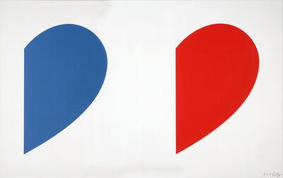 Ellsworth Kelly, 'Blue Curve/Red Curve', 2014