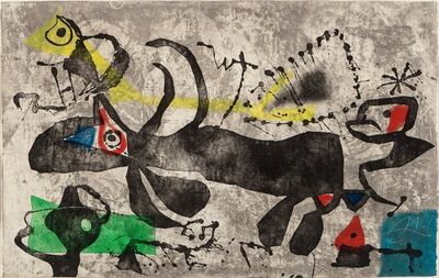 Joan Miró, 'Els Gossos IV', 1979