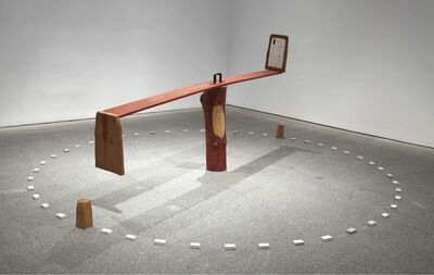 Ree Morton, 'See Saw', 1974