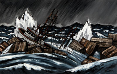 David Bates, 'Shipwreck I', 2015
