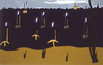 Jacob Lawrence, 'Flotilla', 1986
