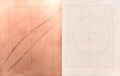 Pablo Picasso, 'Carmen Oval Head with Dividing Line (Plate XXIX)', 1949