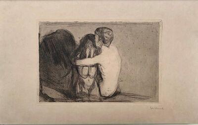 Edvard Munch, 'Trøst (Consolation) ', 1894
