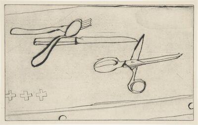Richard Diebenkorn, '#27 from 41 Etchings Drypoints', 1963
