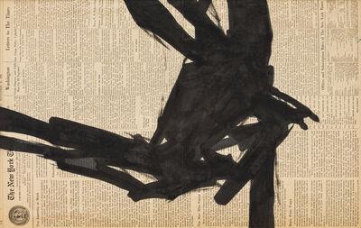 Franz Kline, 'Study for Corinthian II'