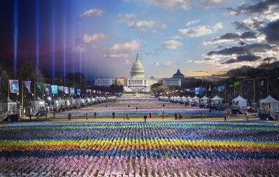 Stephen Wilkes, 'Biden Harris Inauguration, Washington DC, Day to Night', 2021