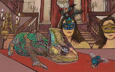 Jolanta Kyzikaite, 'Red Carpet', 2021