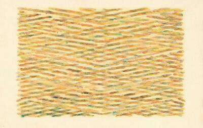 Ed Moses, 'Wedge Series #IV', 1972