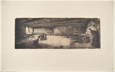 Käthe Kollwitz, 'Scene from Germinal', 1893