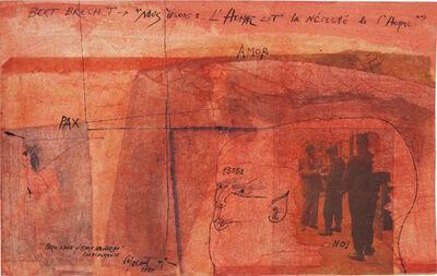 Modest Cuixart, 'Bert Brecht', 1964
