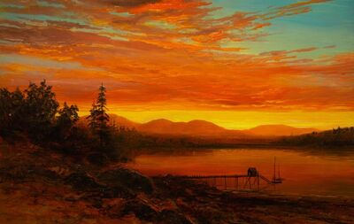 Erik Koeppel, 'Sunset at Acadia', 2020