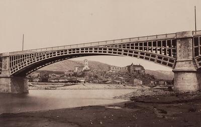 Édouard Baldus, 'Viaduc de le Voulte', 1861 or later