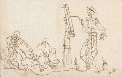 Georges Braque, 'Le peintre et son modèle ', ca. 1970