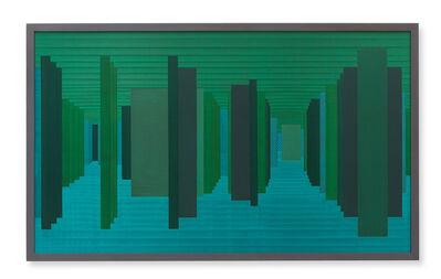 Janaina Mello Landini, 'Labirintos Rizomáticos - série VI (Venice - South)', 2018