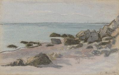 Claude Monet, ' Bord de Mer (Seaside)', ca. 1865