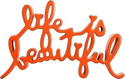 Mr. Brainwash, 'Life Is Beautiful (Orange)', 2015