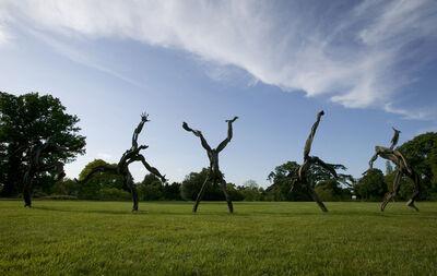Sophie Dickens, 'Cartwheeling Man, life size', 2010