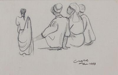 Peter Clarke, 'Malay Conversation', 1953