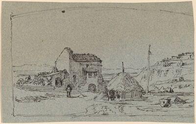 Elihu Vedder, 'Tuscany', ca. 1858