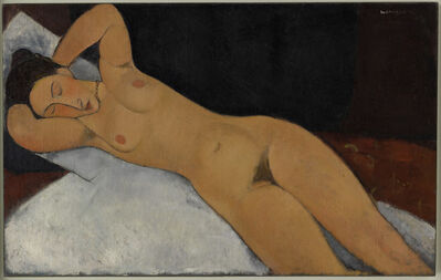 Amedeo Modigliani, 'Nu', 1917