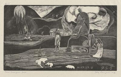 Paul Gauguin, 'Maruru (Thank You)', 1894/1895