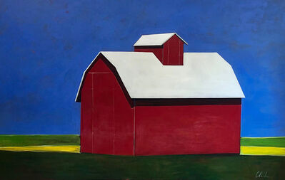 Melissa Chandon, 'Red Barn at Noon', 2019