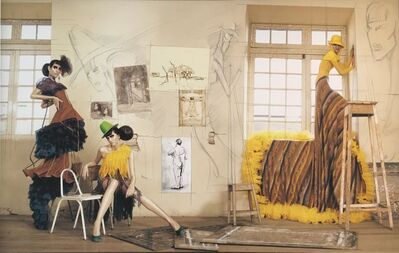 Efren Isaza, 'Haute Color Yellow Dress', 2009