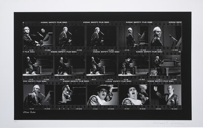 Richard E. Aaron, 'Elton John Film Strip on Hahnemuehle Paper'