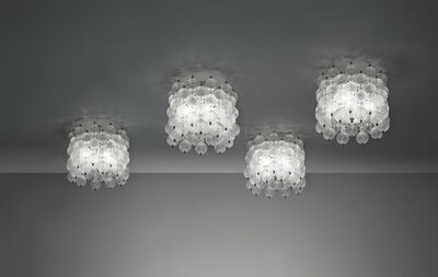"Venini, 'Set of four ""Balloton"" ceiling lights', circa 1957"