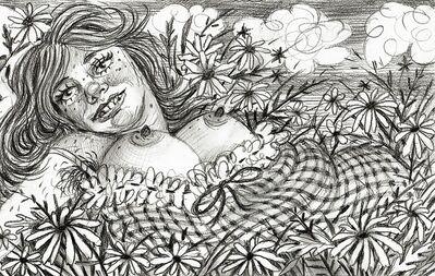 Rebecca Morgan, 'Reclining Maid', 2016