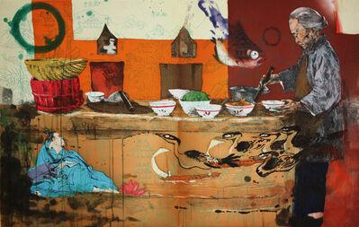 Hung Liu 刘虹, 'Luzao (Stove), 2008', 2008