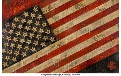 Shepard Fairey, 'Flag', 2010
