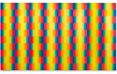 Getulio Alviani, 'Cromia Spettrologica ', 1982