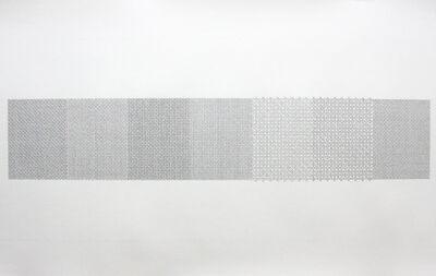 Ken Nicol, 'fuck the bunny suit - quarter letters', 2018