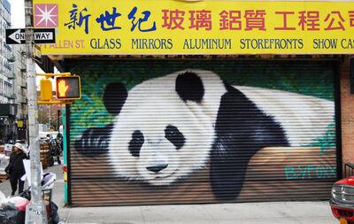 BK FOXX, 'Panda mural', 2015