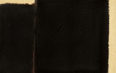 Yun Hyong-keun, ' Burnt Umber&Ultramarine Blue', 1998