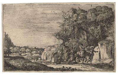 Claude Lorrain, 'The Flight into Egypt', ca. 1630–33