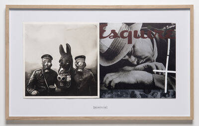 Roman Uranjek & Radenko Milak, 'April 22, 1915, First Large Scale Use of Chlorine Gas by the Germans near Ypres on the Western Front During the WWI (from the seriesDATES - for a Subjective Timeline of the Climate Change)', 2018