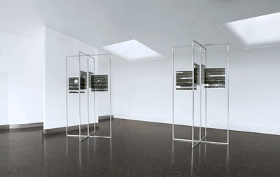 G. Roland Biermann, 'snow+concrete XIV and XII ', 2009-2012