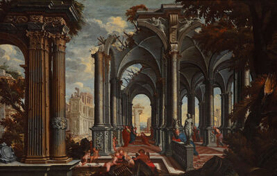 Giovanni Battista Lambranzi, 'Delivery of the Keys to St Peter', End of 17th century