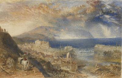 J. M. W. Turner, 'Wolf's Hope, Eyemouth', ca. 1835