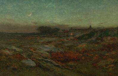 Dwight Tryon, 'Moonlight in November', ca. 1887