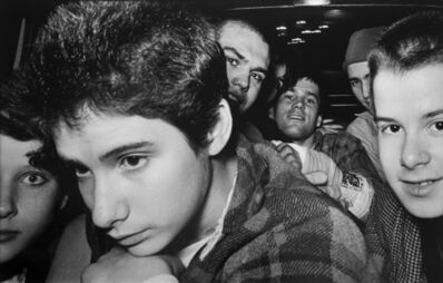 Ryan Weideman, '8 Punk Rockers [with Ad-Rock from the Beastie Boys]', 1982