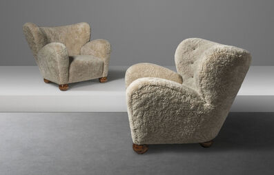 Marta Blomstedt, 'A pair of lounge chairs', designed 1939