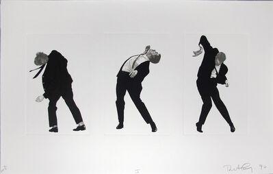 Robert Longo, 'Men in the Cities, Tokyo, Seibu Department Stores, Ltd. I (3 Men)', 1990