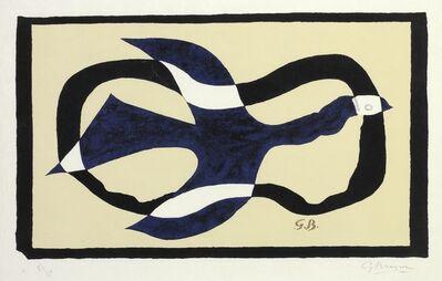 Georges Braque, 'Oiseau traversant un nuage (Oiseaux XI)', 1957
