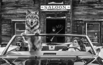 David Yarrow, 'Cindy's Shotgun Wedding', 2019
