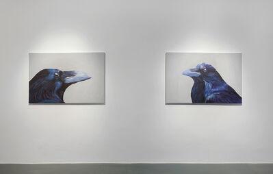 Elmas Deniz, 'Raven Portraits', 2018
