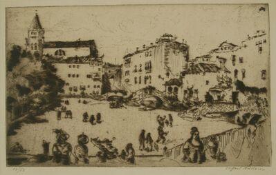 Clifford Isaac Addams, 'Edge of Venice', 1914