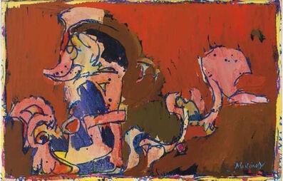 Pierre Alechinsky, 'La Victoire de Tollund', 1979